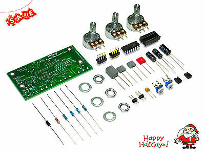 XR2206 Function Generator DIY Kit; Sine, Triangle, Square Output 20Hz - 100KHz