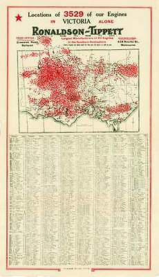 Locations of 3529 of our Engines in Victoria Alone Ronaldson-Tippett photocopy