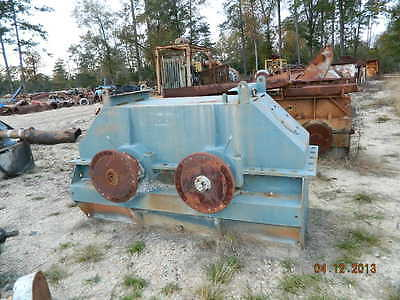 Eagle Iron Works Log Washer Gearbox, EIW, Mclanahan, Greystone, Sand Screw, Trio
