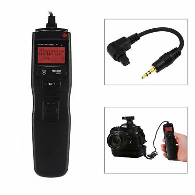 Time lapse intervalometer Timer Remote Shutter Release f Canon EOS 5D mark II 7D