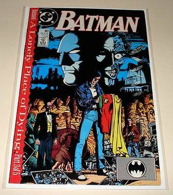 BATMAN # 441 DC Comic 1989    VFN    A Lonely Place of Dying Part 3