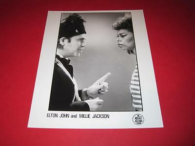 ELTON JOHN original 10x8 inch promo press photo photograph 1231-17