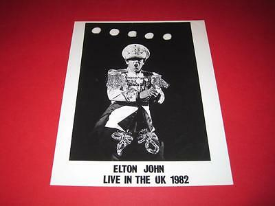 ELTON JOHN original 10x8 inch promo press photo photograph 1231-12