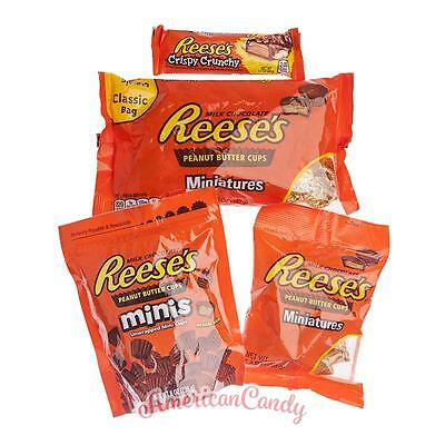 MIX Paket HERSHEY REESES-MIX:  4 seltene REESE'S Produkte (29,88€/kg)