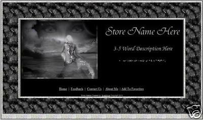 Fantasy Mermaid Store Front Header Package