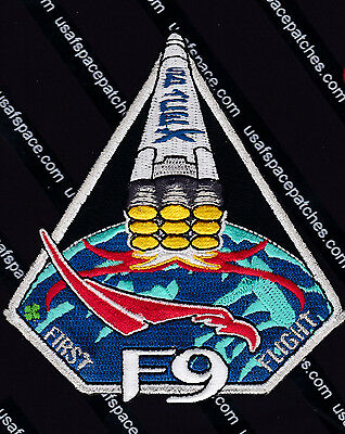 Spacex F-9 Original Falcon 9 First Flight  Space Mission Patch