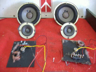 ELECTRO VOICE EIGHT A....WOOFERS TWEETERS CROSSOVERS  EV 8a