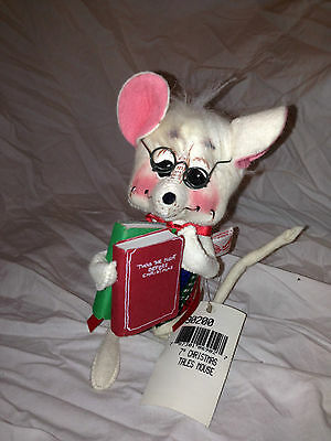 """Annalee 7"""" Christmas Tales Mouse - 690200"""
