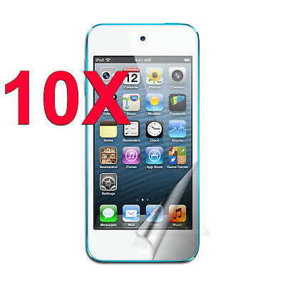10 x Clear LCD Screen Protector Film for Apple iPod Touch 5 5th 6 6th GEN 5G