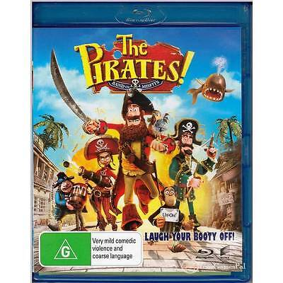 BLU-RAY PIRATES! BAND OF MISFITS, THE Grant ALL REGION FREE A+B+C NOT SEALED [BN
