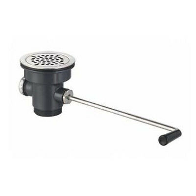 """Commercial Sink Twist Lever Waste Drain Outlet 3-1/2"""" Drain"""