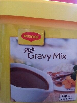 1KG MAGGI RICH GRAVY MIX - SPECIAL LIMITED EDITION SIZE Best Before Early 2020