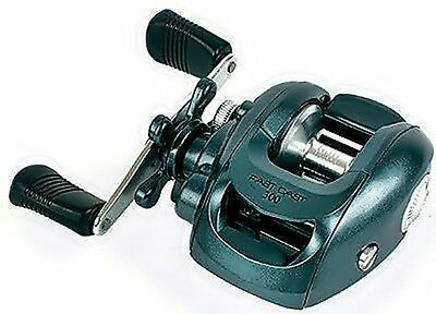 Grandeslam Left Handed Baitcaster Fast Cast Jig Spin Multiplier Fishing Reel