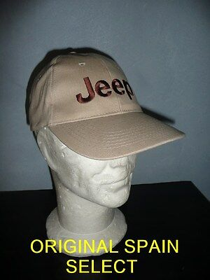 Casquette JEEP beige ( WILLYS FORD MB MA GPA SAS 4X4 M201 WW2 USA NORMANDIE cap