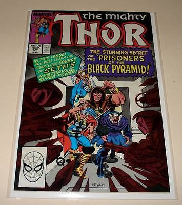 The MIGHTY THOR # 398  Marvel Comic   Dec 1988   FN+