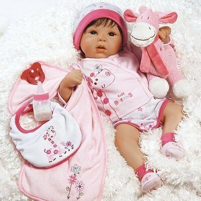 19 inch Realistic & Lifelike Baby Doll, Tall Dreams Ensemble, for Ages 3+