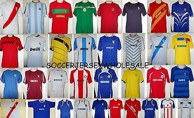Soccer Team Jersey Kit Uniform 20 Tshirts + 20 Shorts With Numbers & Names New