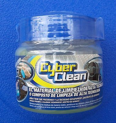 BLUE CYBER CLEAN. Auto detailing Dashboard, crevice & Vent cleaner. dust,pollen