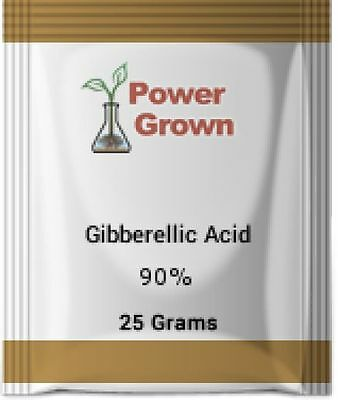 Gibberellic acid 90%  25 Grams  With Instructions, Spoon and Rebates