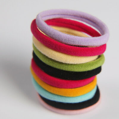 Snagless Hair Ties/ Hair Band / Elastic Hair Tie / Ponytailer holders 5mm School