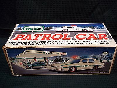 1993 HESS Collectible Patrol Car