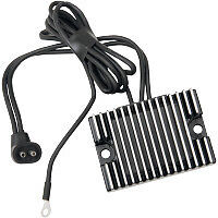Black Rectifier Regulator for Harley Davidson Evolution Motorcycle (1987-1999)