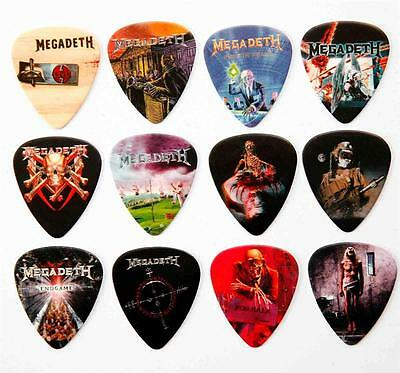 Megadeth Guitar Picks - Packet of 12 Different Plectrums