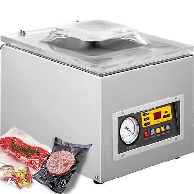 Commercial Vacuum Sealer System Food Sealing Machine Kitchen Storage Packing