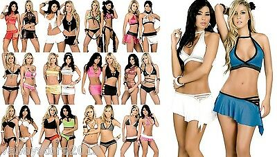 WHOLESALE LOT 200 Pieces SEXY LINGERIE EXOTIC BIKINI CLUBWEAR DANCER RAVE S M L