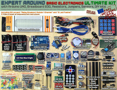 MAKE ELECTRONICS 2ND Edition Components Pack 1, 2, or 3