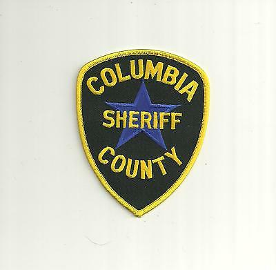 COLUMBIA COUNTY OREGON Sheriff Police Patch** - $4 75 | PicClick