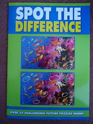 Spot The Difference Picture  Book - Brand New