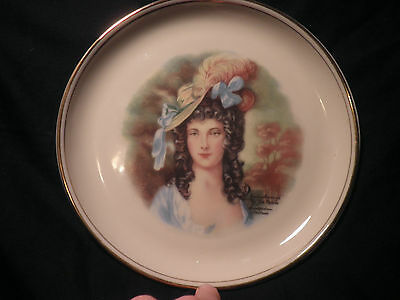 **Hyalyn Porcelain Plate**Gainsbrough by Jon Peters**Amsterdam Holland**EUC**