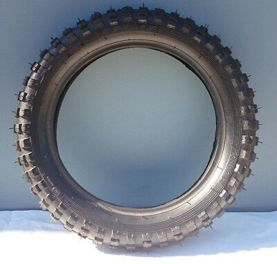 10 inch knobby tyre with tube, 2.5-10 tire, dirt bike pit bike CRF, 50/70/90/110