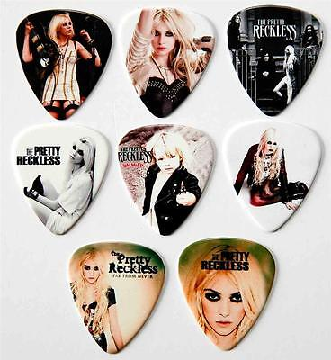 The Pretty Reckless  Packet of 8 Full Colour Guitar Picks