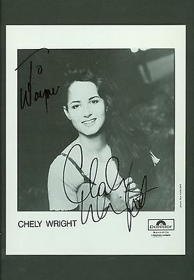 Chely Wright autograph publicity photo hand signed autographed matted country