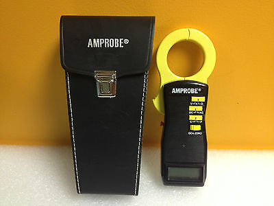 Amprobe ACDC-1000A, Clamp-On Multimeter, 600 V, 1000 A, Case Included