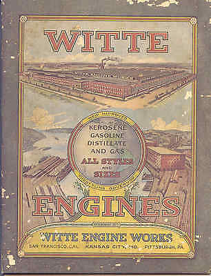 Witte Engines 1923 sales catalogue reprint