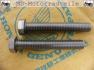Honda CB 750 Four K0 K1 K2 Schrauben  Kettenspanner Bolt, Set, chain adjusting