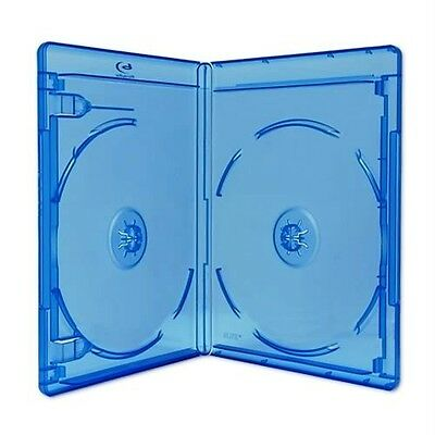 NEW! 10 Premium VIVA ELITE Double Disc Blu-ray Cases - Holds 2 Discs
