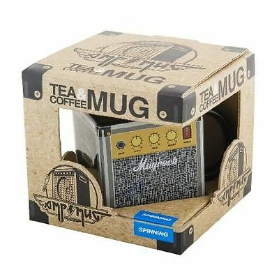 Amp Tea and Coffee Mug By Spinning Hat Great Gift for Music Fanatic
