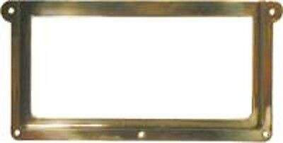 FILE CABINET HARDWARE  STAMPED  BRASS CARD HOLDER  B3148
