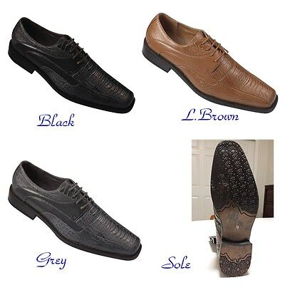 Sole of Calssic Calico M5750 Mens Fashion Oxford Faux  Leather Dress Two tone