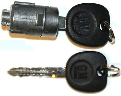 NEW GMC OEM Single Door Lock Cylinder W/2 OEM GM LOGO KEYS-706592 + 5928818