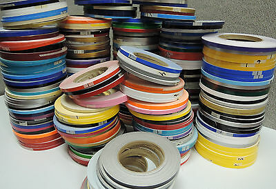 1/2 INCHx 150 ft Roll Vinyl Pinstriping Vinyl Striping Tape 25 Colors Available