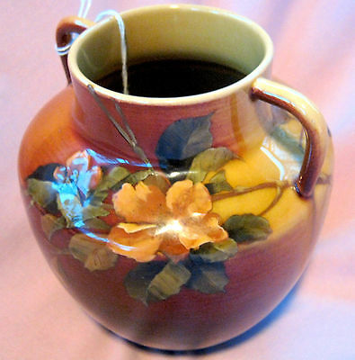 """1889 Spectacular Example Earliest Rookwood Pottery 6"""" Vase Incredibly Beautiful!"""