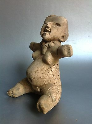 Mayan Seated Female Figure : 200 B.c. - 200 A.d
