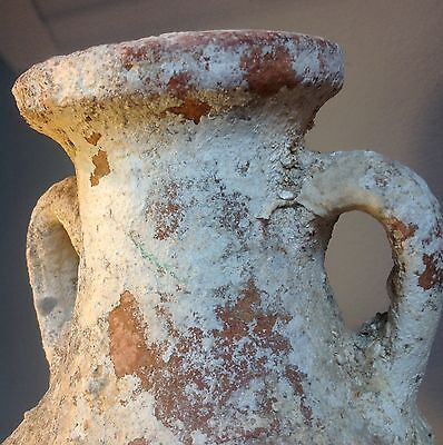 Roman North Africa Amphora 1ST. - 2ND CENTURY ON STAND