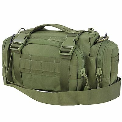 Condor #127 Tactical Deployment MOLLE Hunting Shoulder Go Bag Butt Pack OD Green