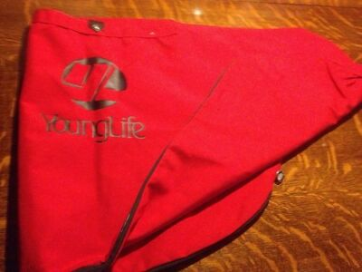 canvas golf Bag Red Young Life Logo
